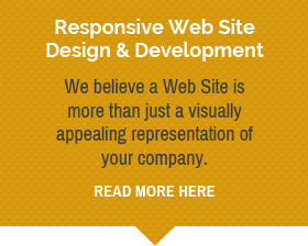 •	Responsive Web Site Design & Development