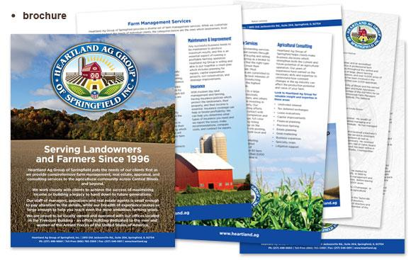 Brochure sample for Heartland Ag